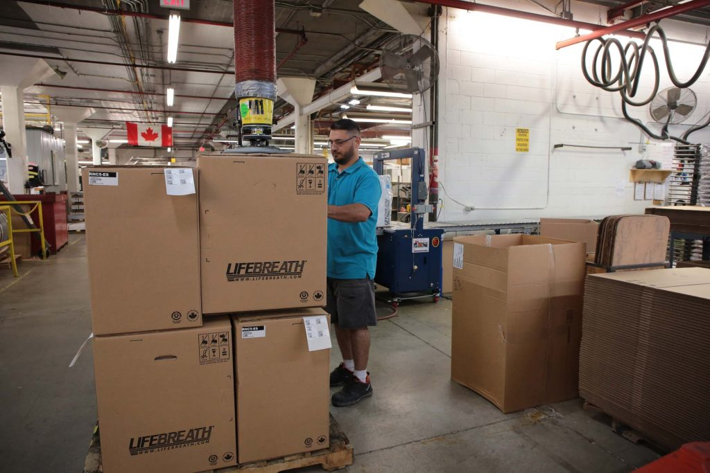 Commercial Heat Recovery Ventilation HRV Units Lifebreath
