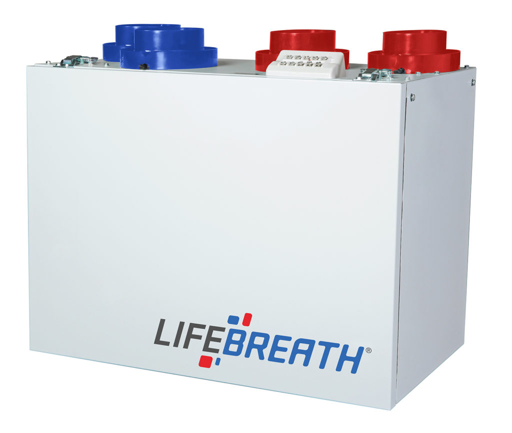 Lifebreath Rnc5 Tpd Residential Heat Recovery Ventilator