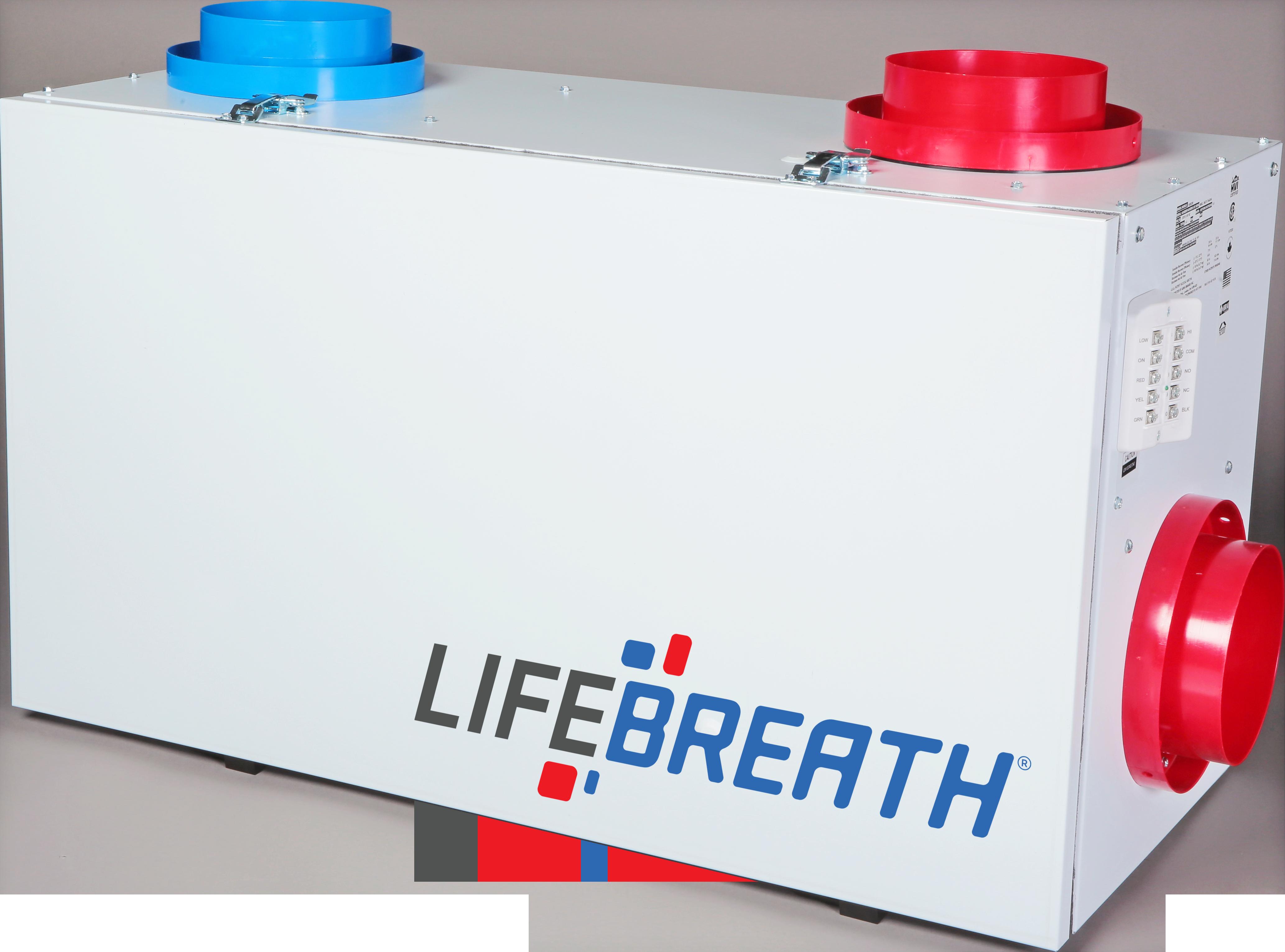 lifebreath 155 max residential heat recovery ventilator (hrv Water Heater Wiring Diagram lifebreath 155 max residential heat recovery ventilator (hrv) lifebreath