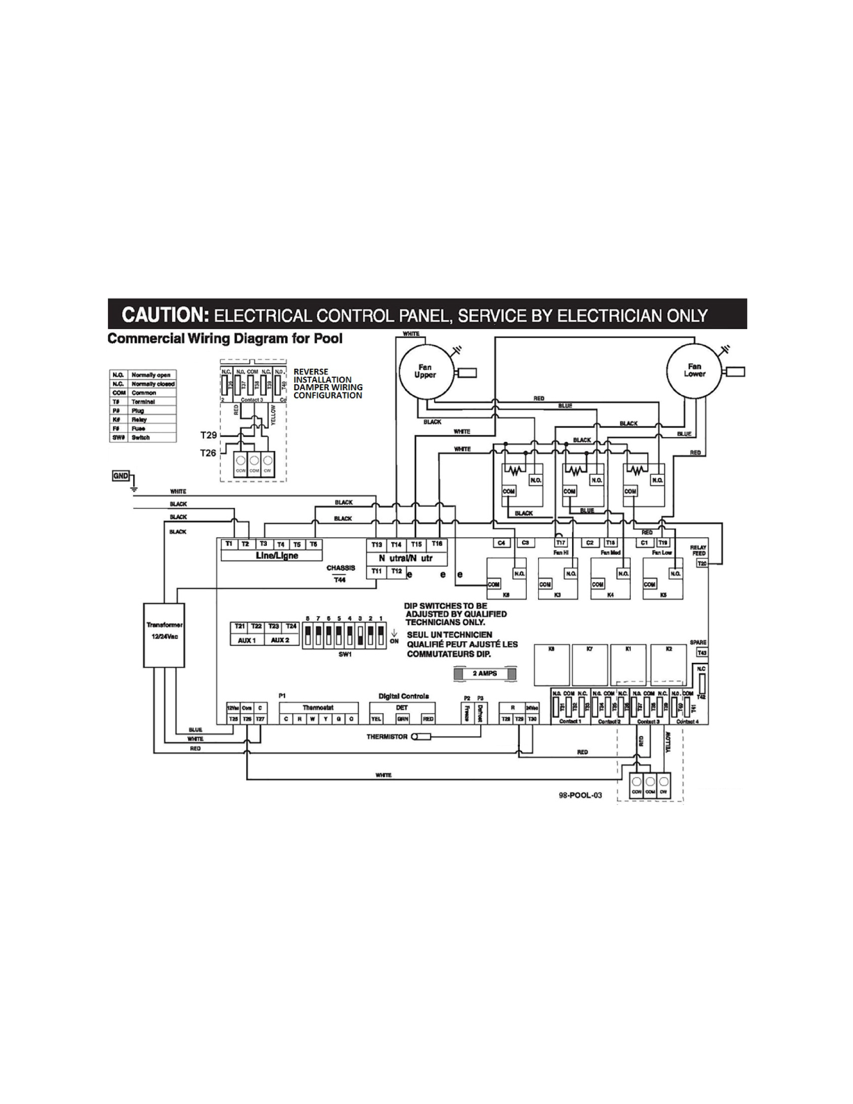 Lifebreath 1200 Pool Commercial Heat Recovery Ventilator Hrv Cover Pools Wiring Diagram Downloads